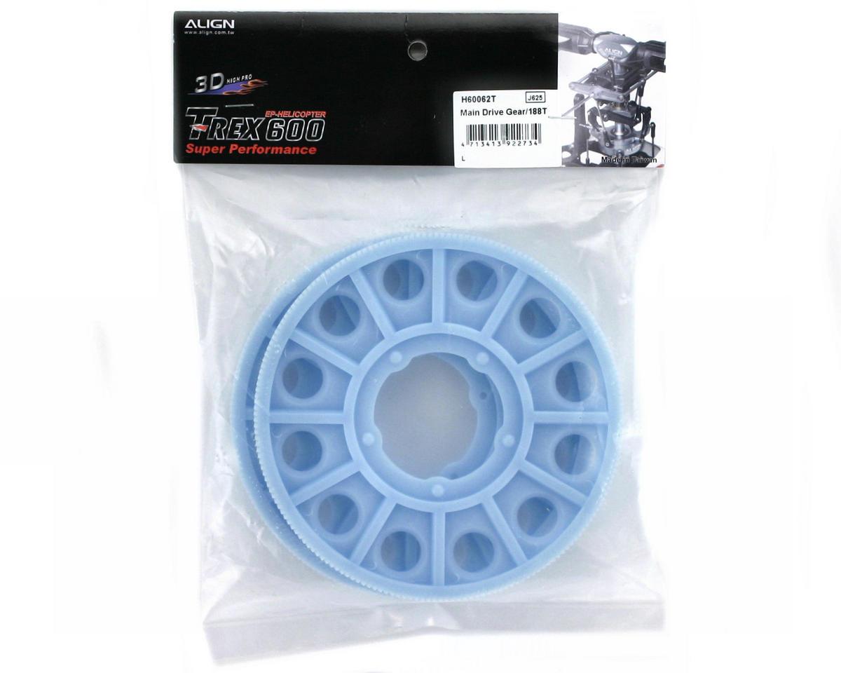 Align Main Drive Gear/188T (2) (600/600CF)