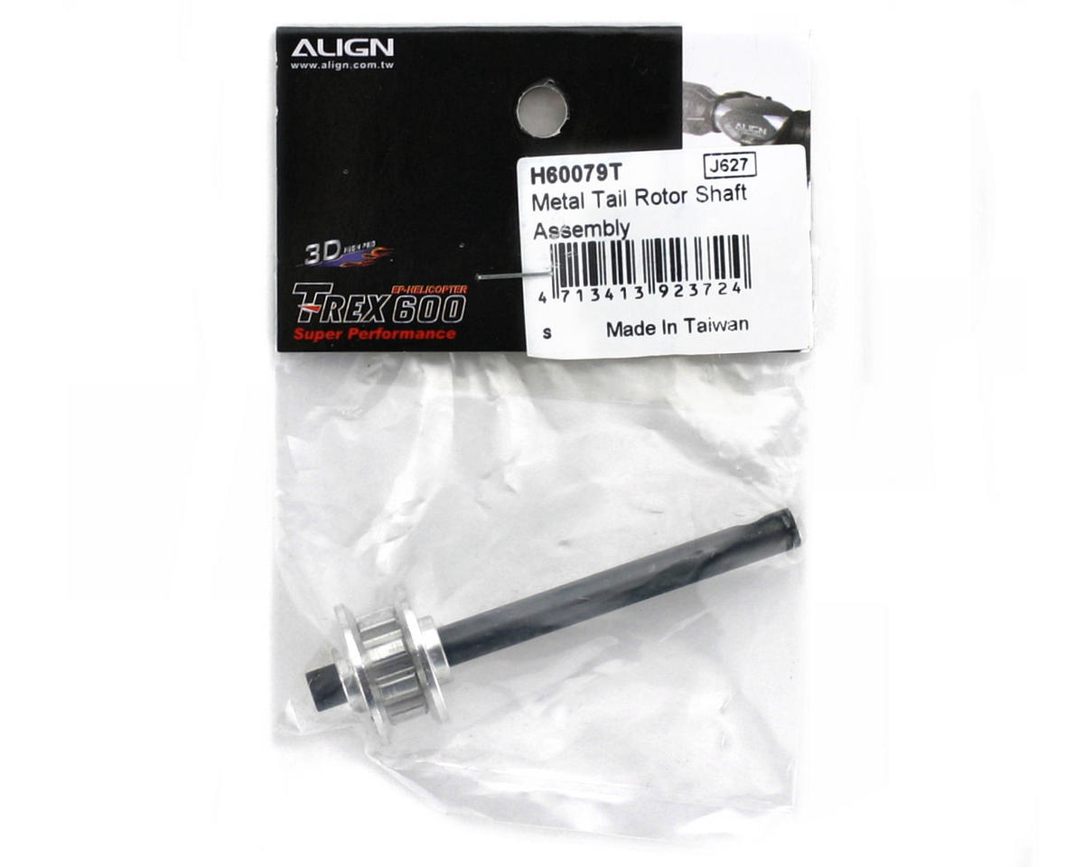 Align Metal Tail Rotor Shaft Assembly (600/600CF)