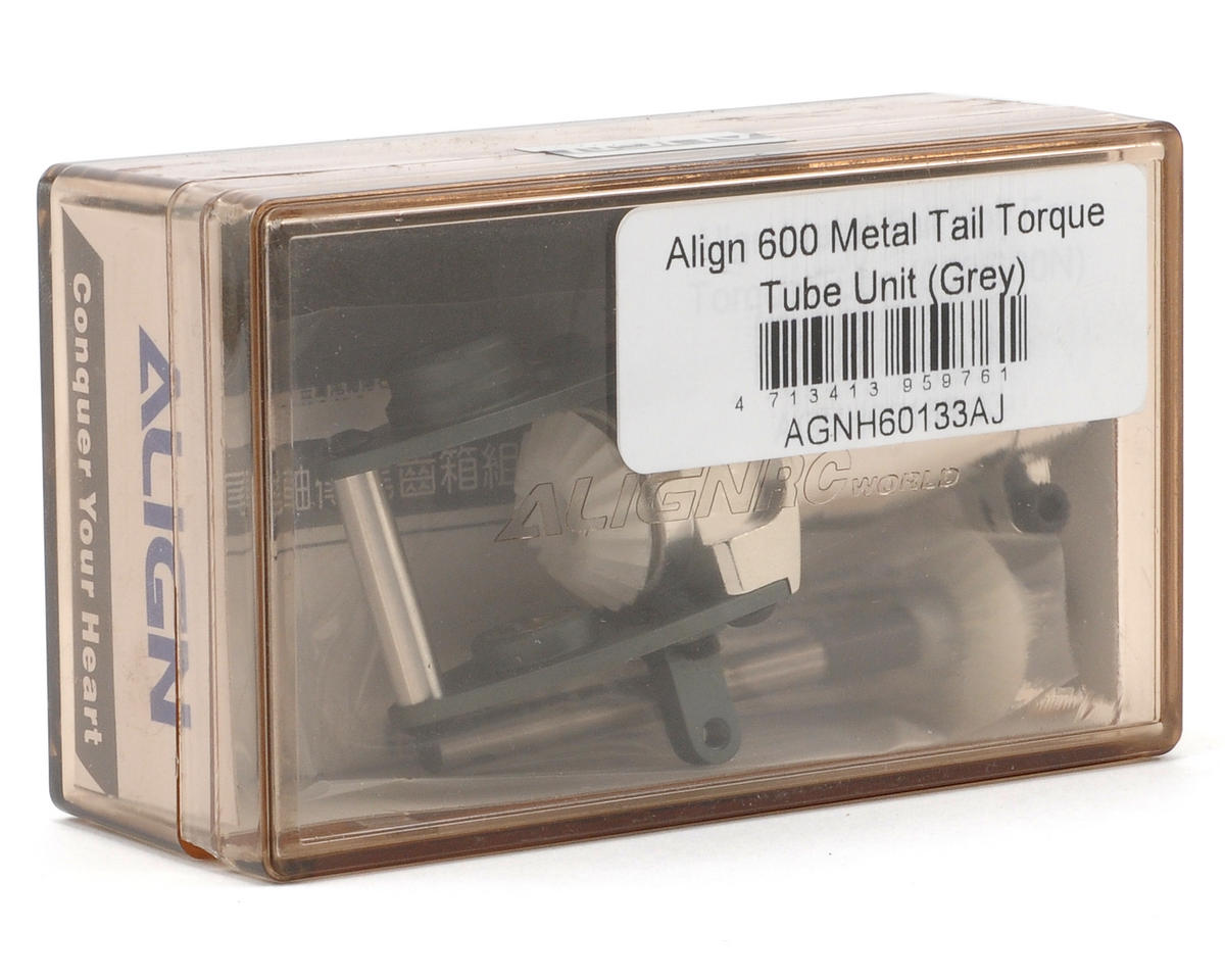 Align 600 Metal Tail Torque Tube Unit (Gray)