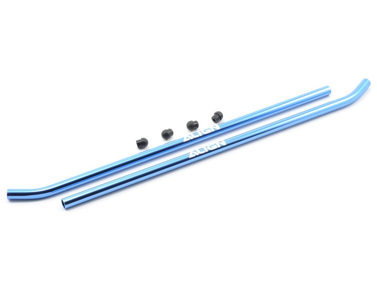 Align 600 Skid Pipe (Blue) (2)