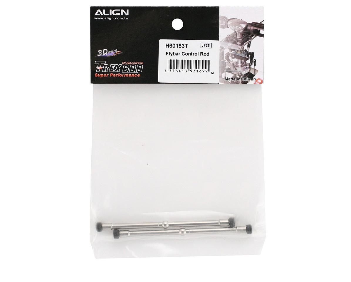 Align Flybar Control Rod (600/600N)