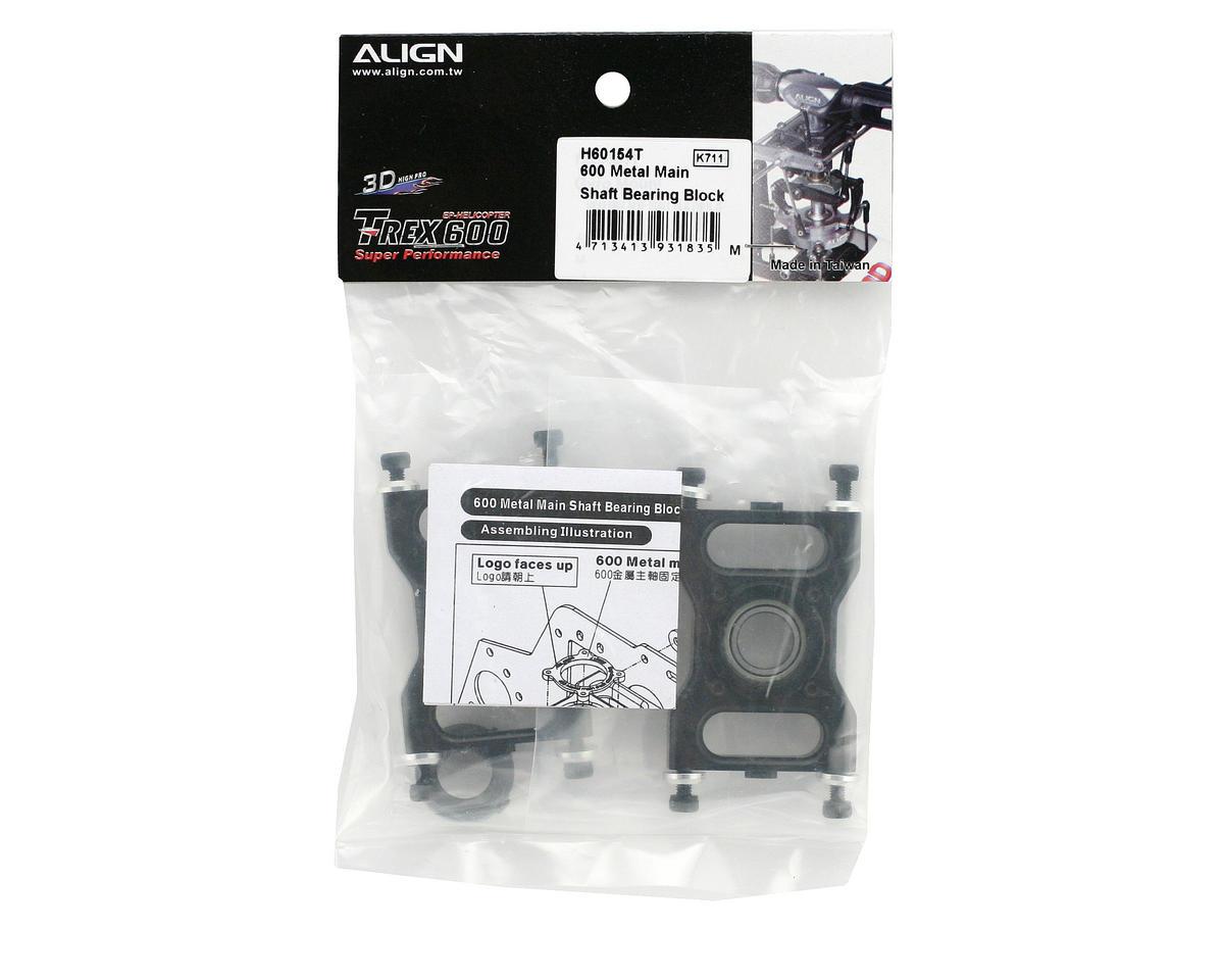 Align Metal Main Shaft Bearing Block