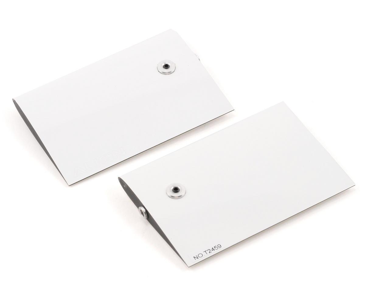 Align Carbon Fiber Flybar Paddle Set (3K White) (600)