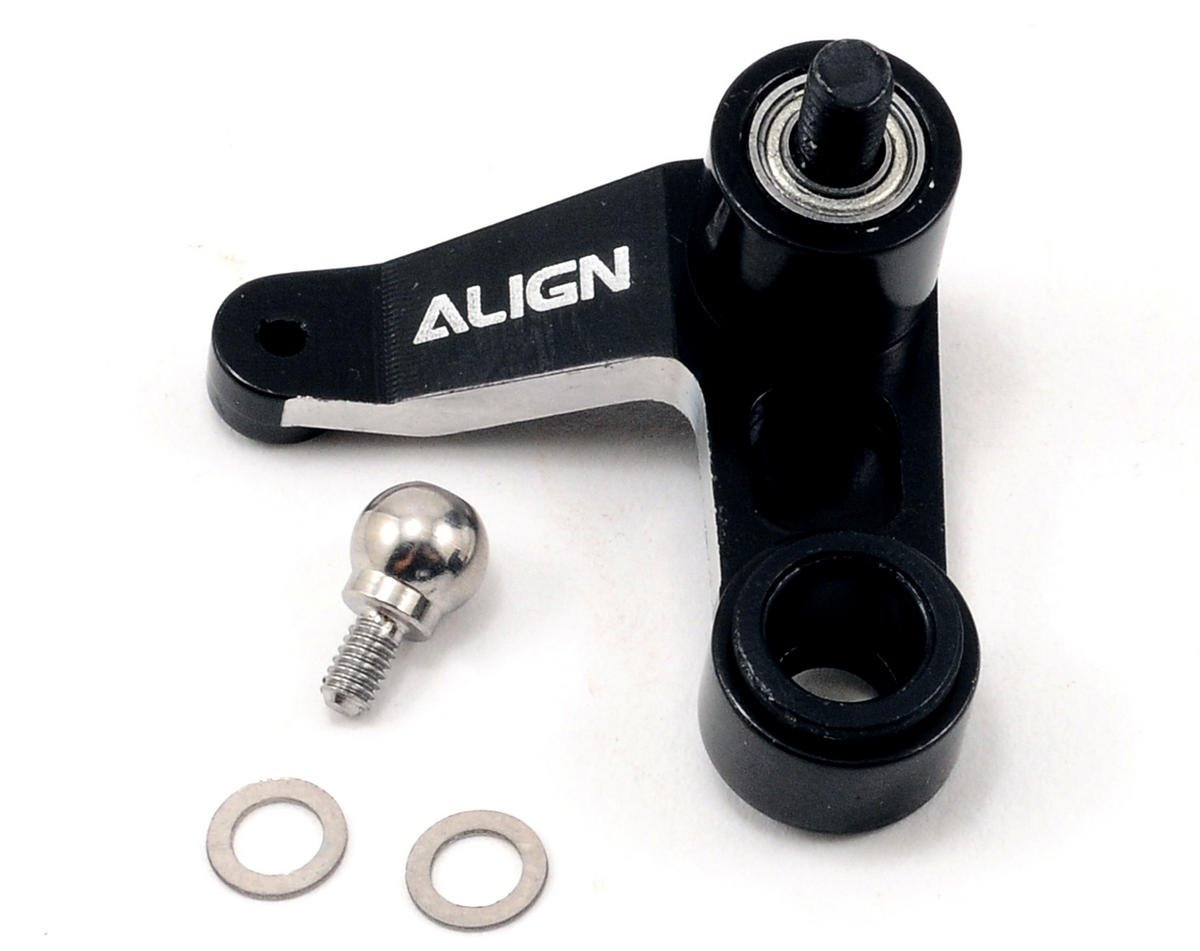 Metal Tail Rotor Control Arm Set (Black) by Align