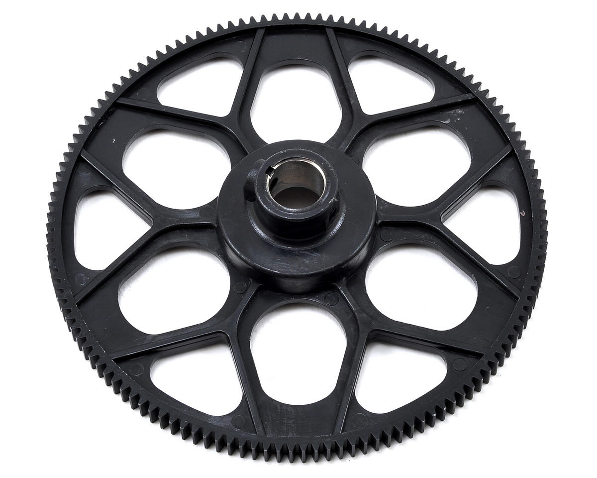 M0.8 Autorotation Tail Drive Gear (Black) (131T) by Align