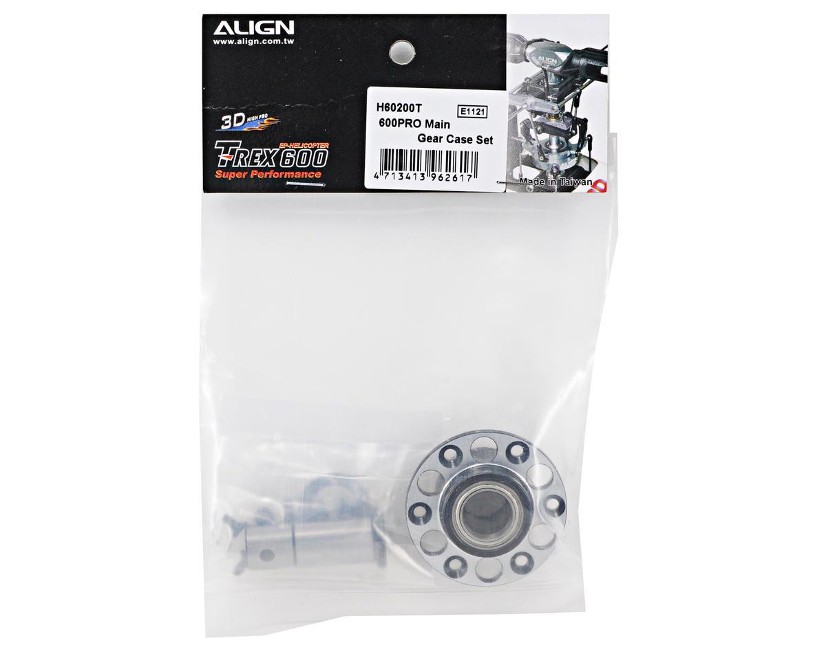 Align 600PRO Main Gear Case Set