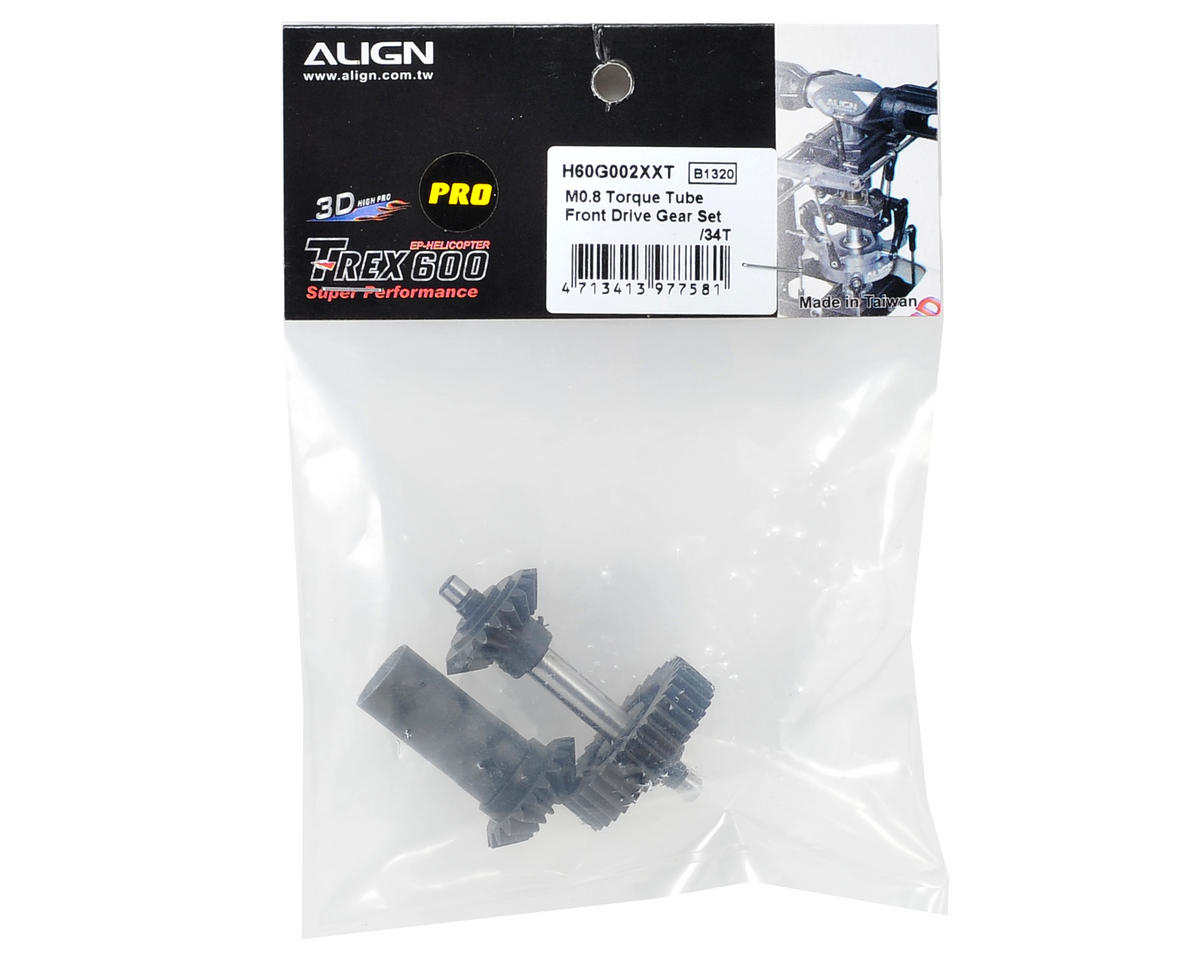 Align M0.8 Torque Tube Front Drive Gear Set (34T)
