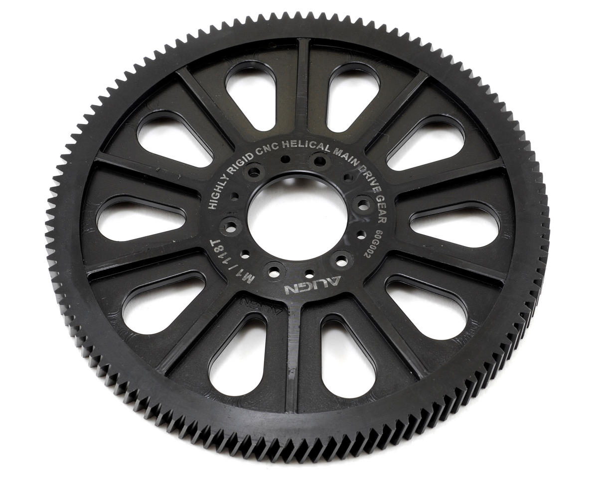 Align CNC Slant Thread Main Drive Gear (118T)