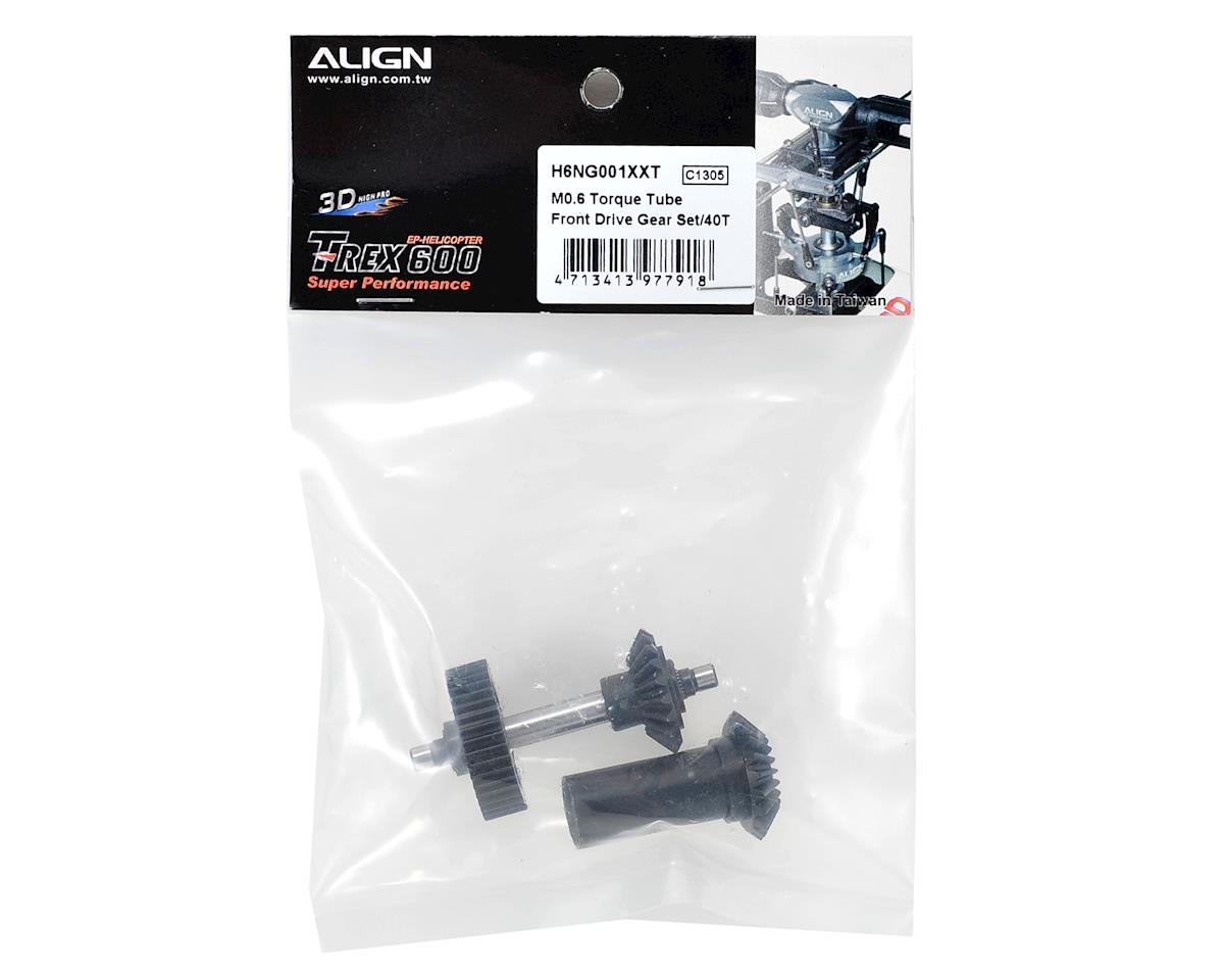 Align M0.6 Torque Tube Front Drive Gear Set (40T)
