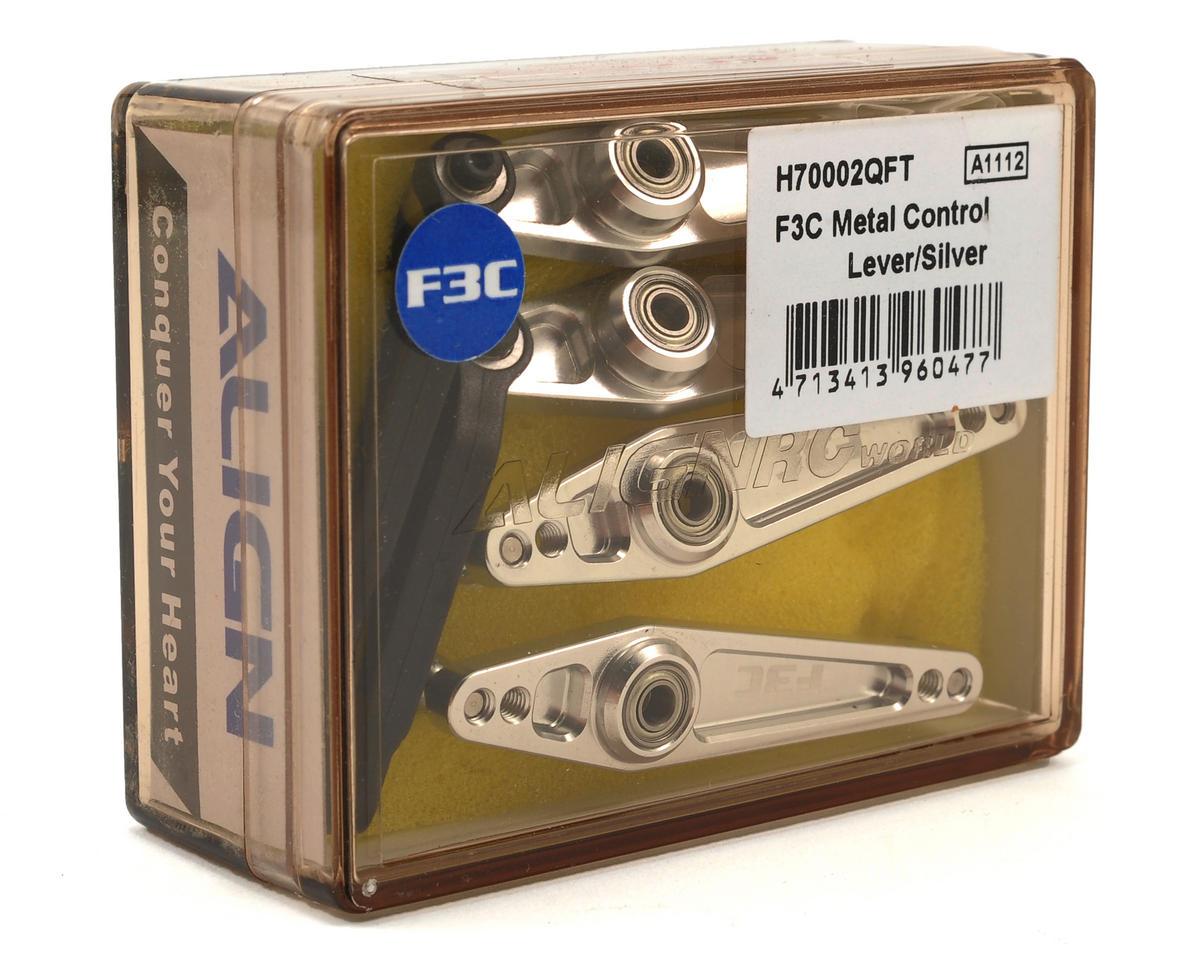 Align F3C Metal Control Lever Set (Silver)