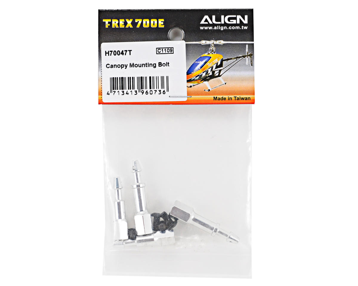 Align 700E Canopy Mounting Bolt Set