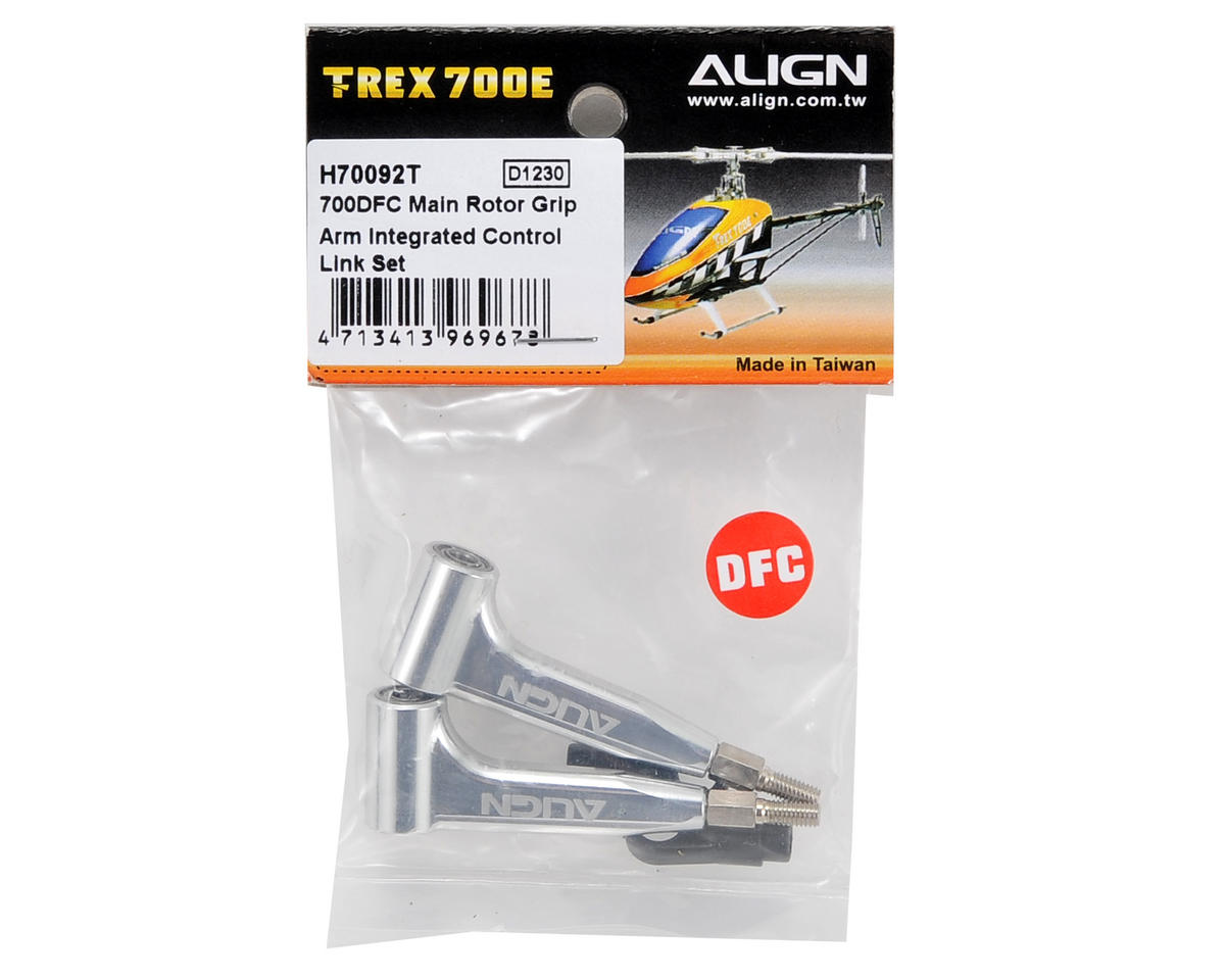 Align 700DFC Main Rotor Grip Arm Integrated Control Link Set