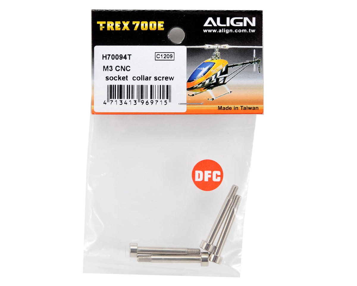 Align 3x24mm CNC Socket Collar Screw (4)
