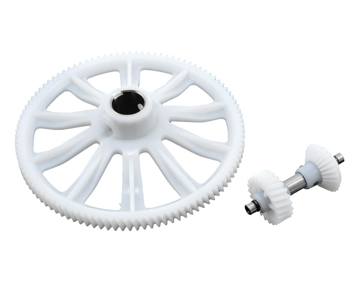 Align M1 Helical Auto Rotation Tail Drive Gear Set (104T)