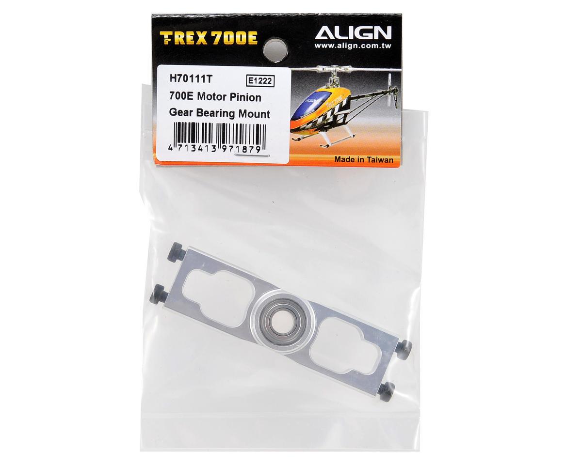 Align 700E Motor Pinion Gear Bearing Mount