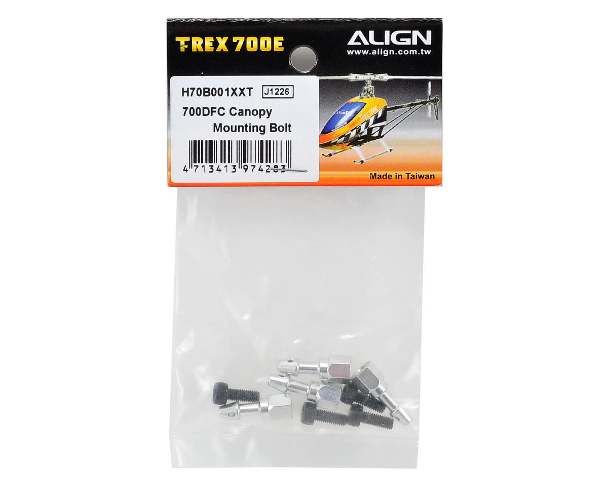 Align 700DFC Canopy Mounting Bolt (4)