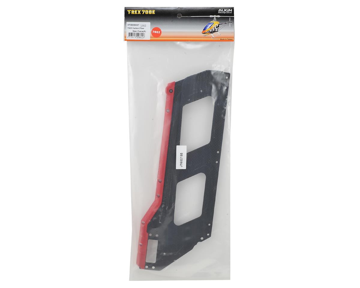 Carbon Fiber 2mm Main Frame (R) (700X) by Align
