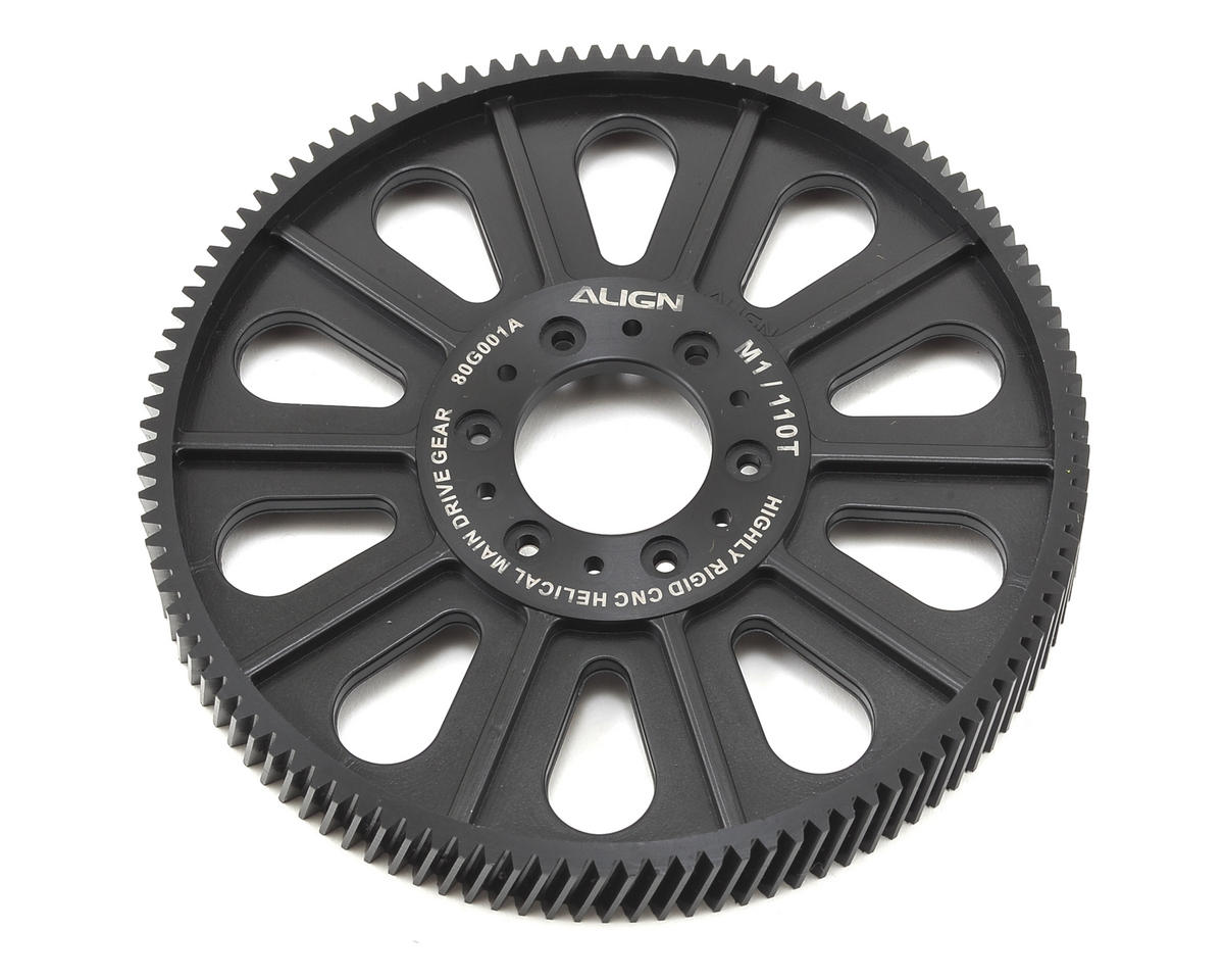 CNC Slant Thread Main Drive Gear (110T/13.5mm) by Align