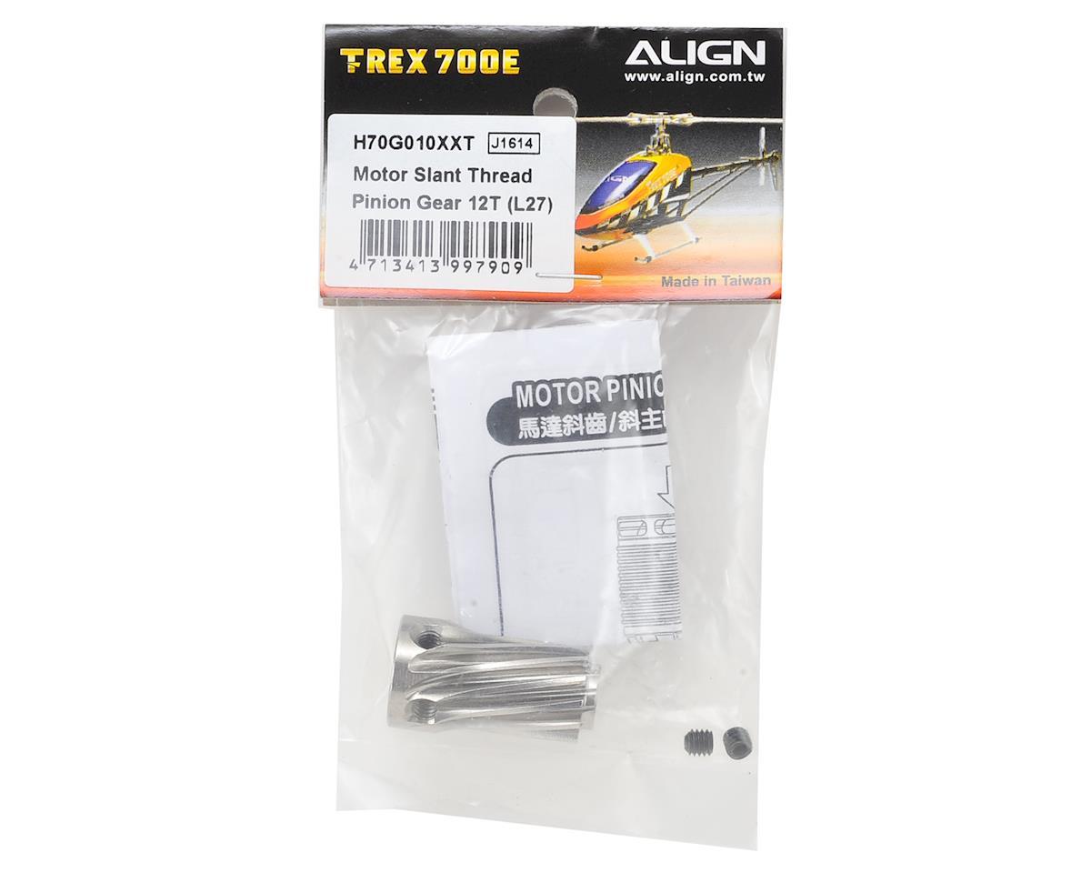 Align Motor Slant Thread Pinion Gear 12T (L27)
