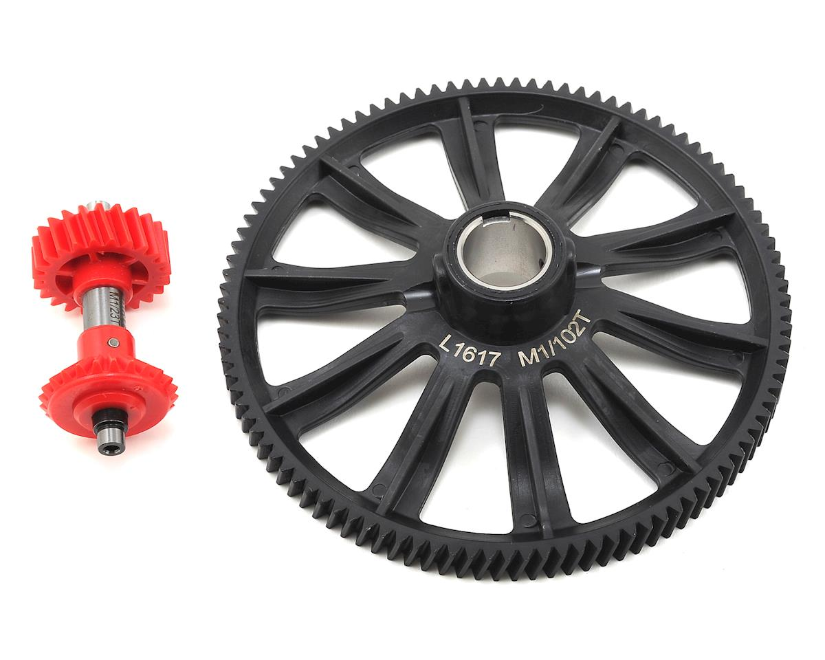 Align M1 Autorotation Tail Drive Gear Set (102T) | alsopurchased