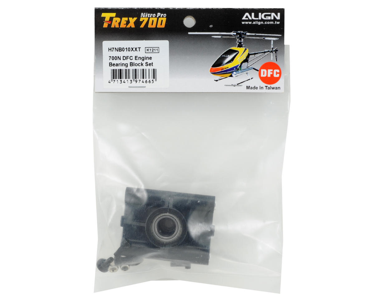 Align Engine Bearing Block Set (700 Nitro DFC)