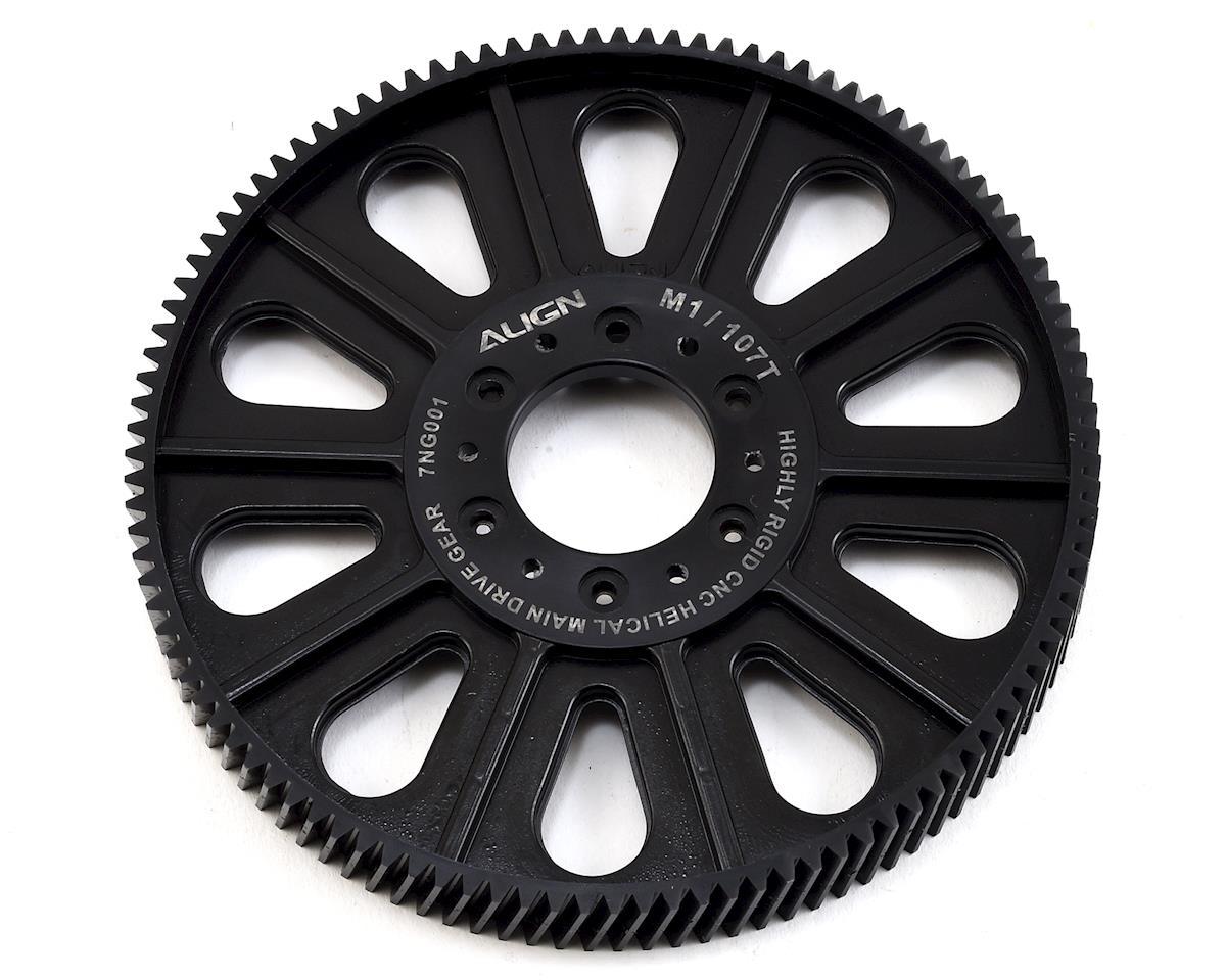 Align CNC Helical Thread Main Drive Gear 107T (700XN)