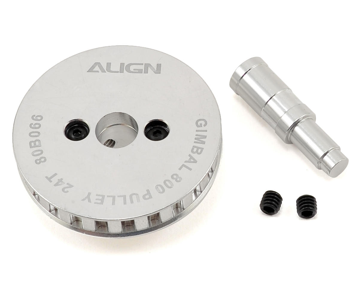 Align T-Rex 800E Belt Pulley Assembly (24T)
