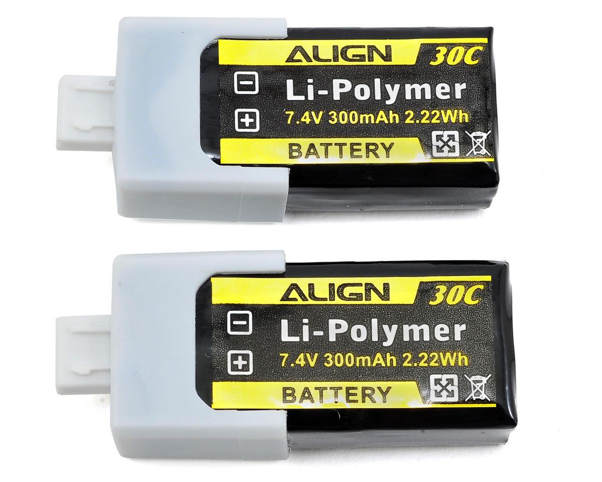 2S1P LiPo Battery 30C (7.4V/300mAh) by Align