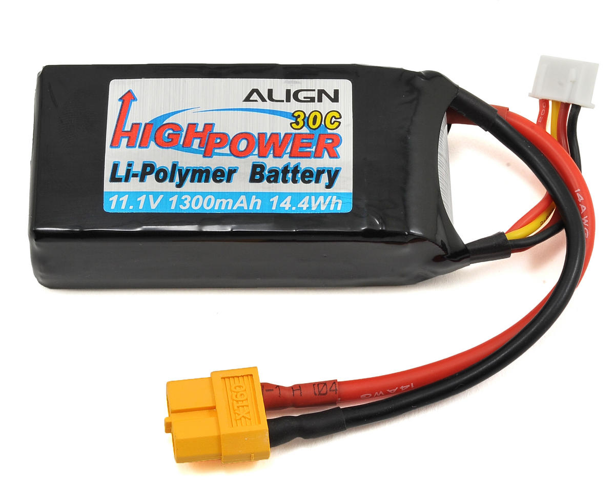 Align 3S1P LiPo Battery 30C (11.1V/1300mAh)