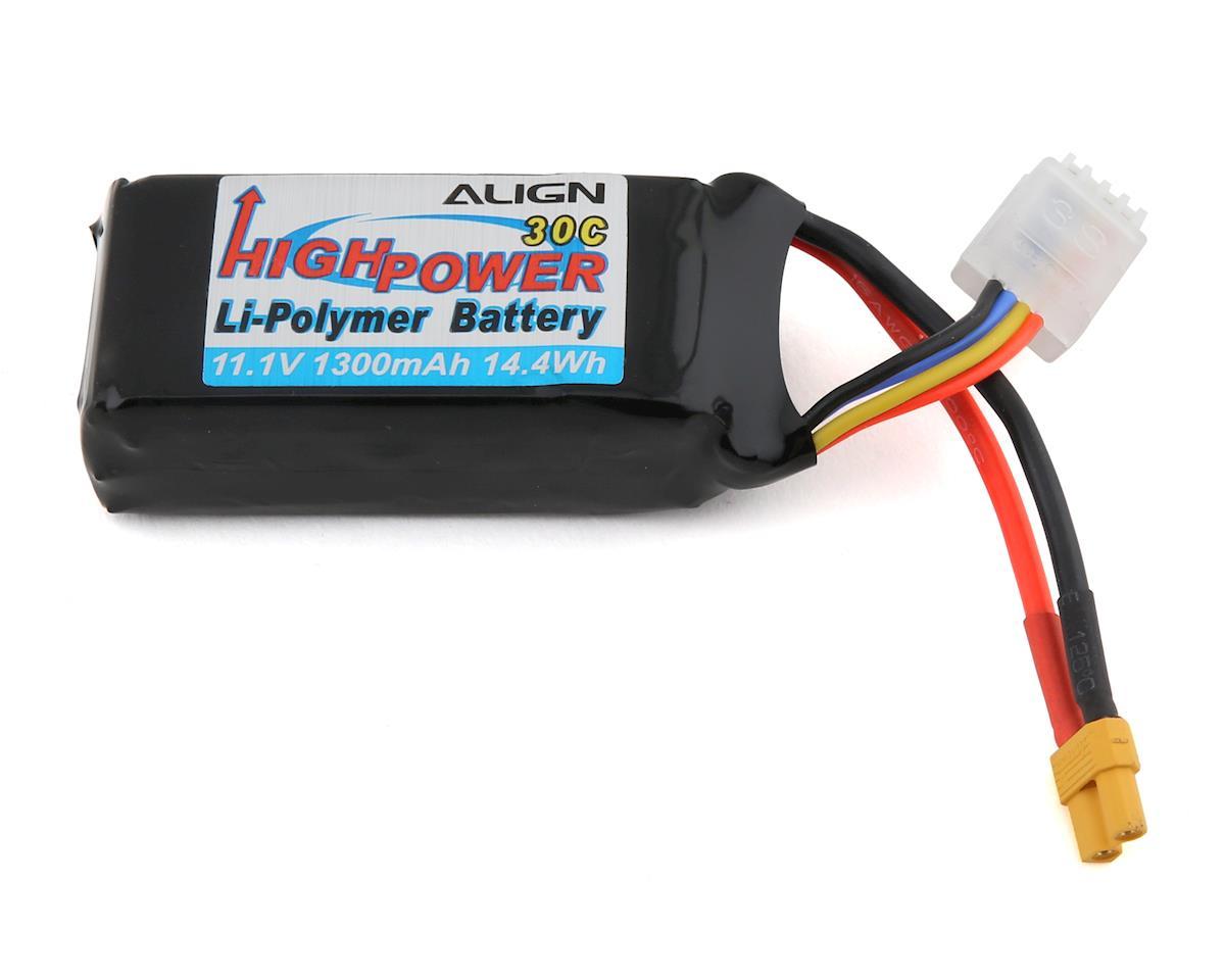 Align 3S Lipo 30C Battery (11.1V/1300mAh) | relatedproducts