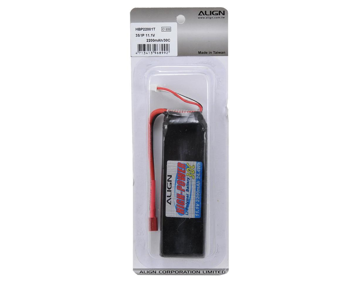 Align 3S1P LiPo Battery 30C (11.1V/2200mAh)