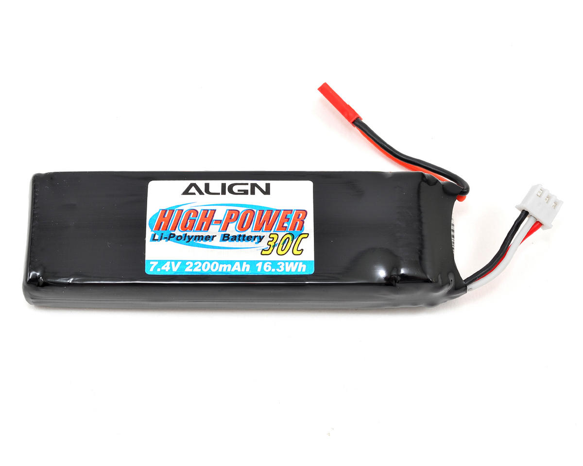 2S1P LiPo Receiver Battery 30C (7.4V/2200mAh) by Align