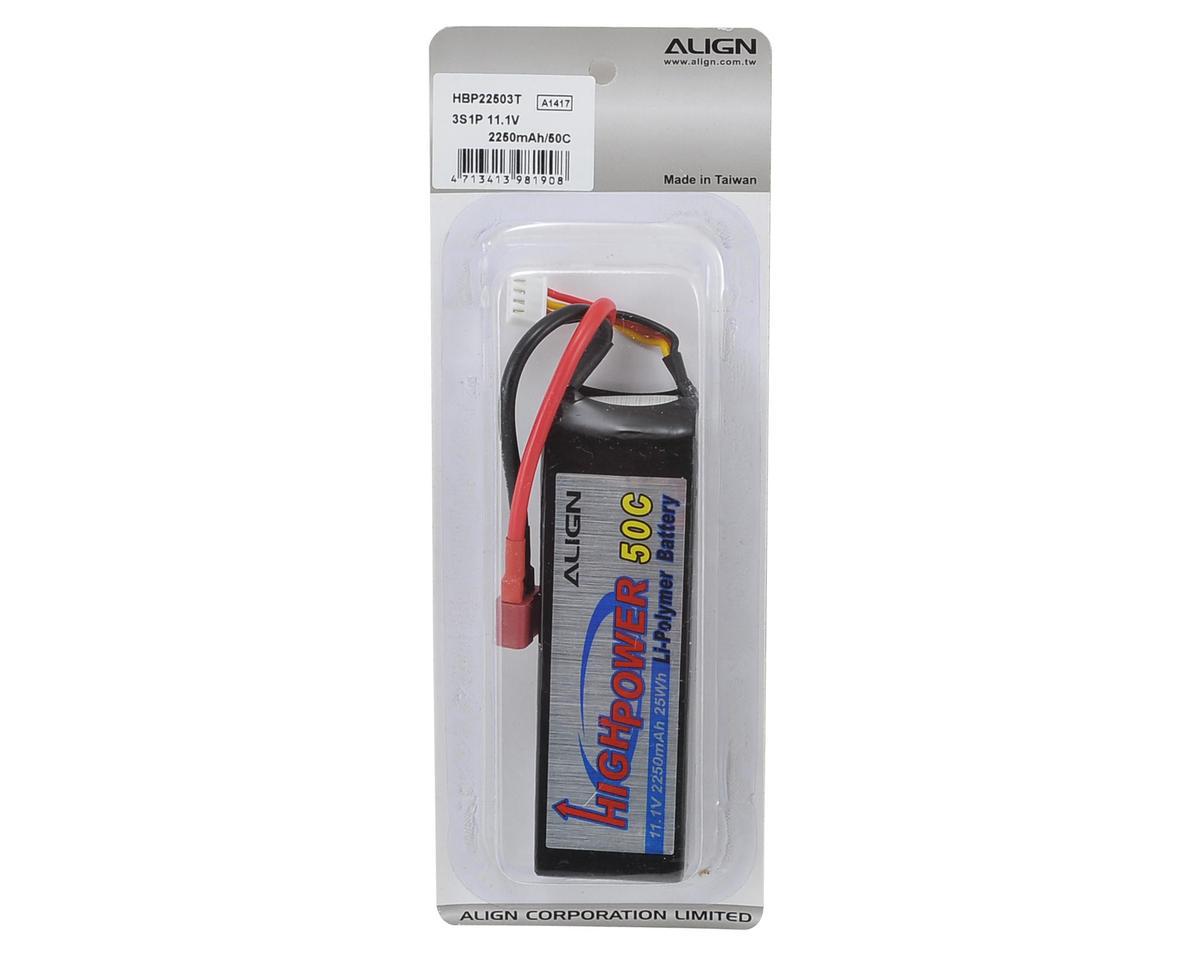 Align 3S1P LiPo Battery 50C (11.1V/2250mAh)