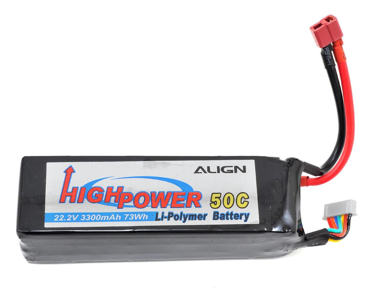 Align 6S1P LiPo Battery 50C (22.2V/3300mAh)
