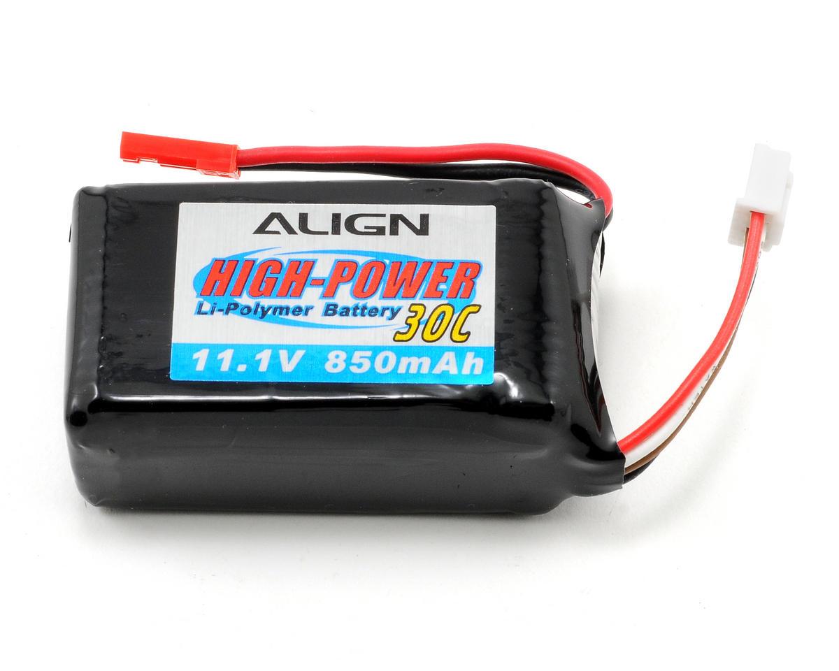 3S1P LiPo Battery 30C (11.1V/850mAh) by Align