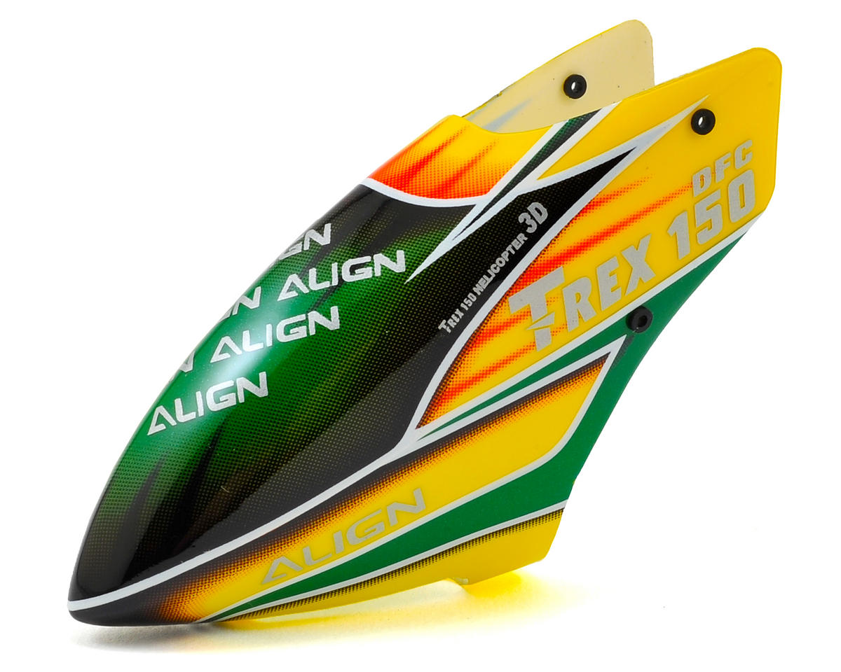 Align 150 Painted Canopy (Yellow/Green)