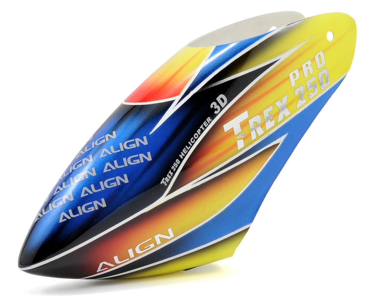 250 Pro Painted Canopy (Yellow/Blue/Red) by Align