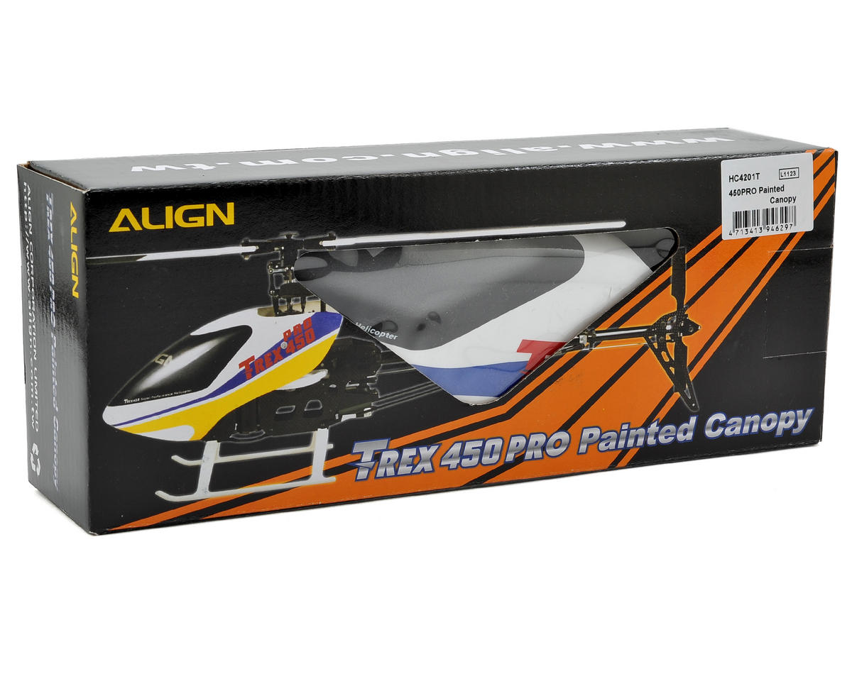 Align 450 PRO Painted Canopy