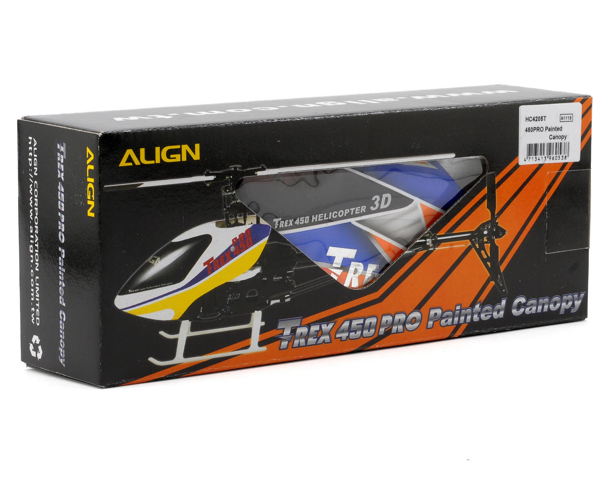 Align 450PRO Painted Canopy (Blue)