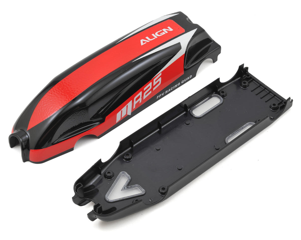 "Align MR25 Painted Canopy ""D"" (Red/Black)"