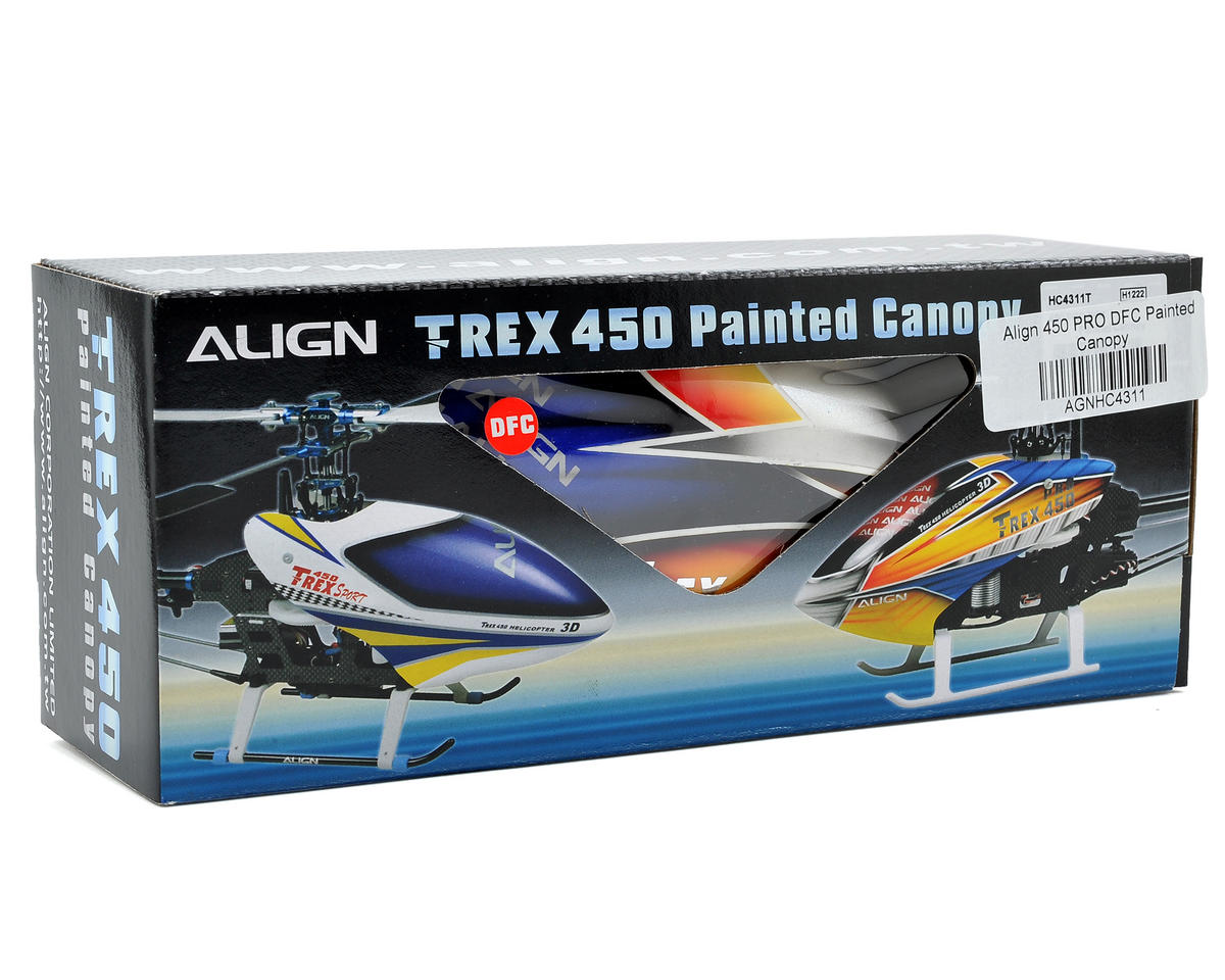 Align 450 PRO DFC Painted Canopy