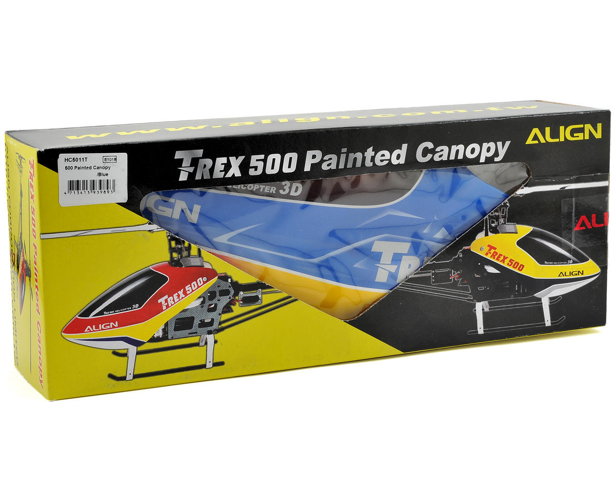 Align 500 Painted Canopy (Blue)