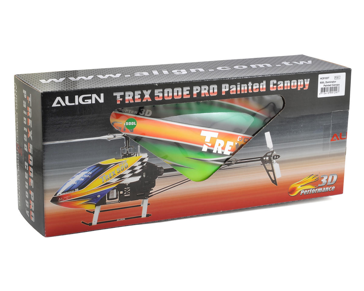Align 500L Dominator Painted Canopy (Green/Yellow)