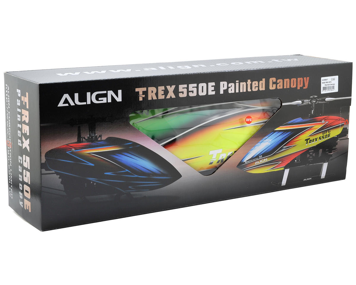 Align 550E PRO DFC Painted Canopy
