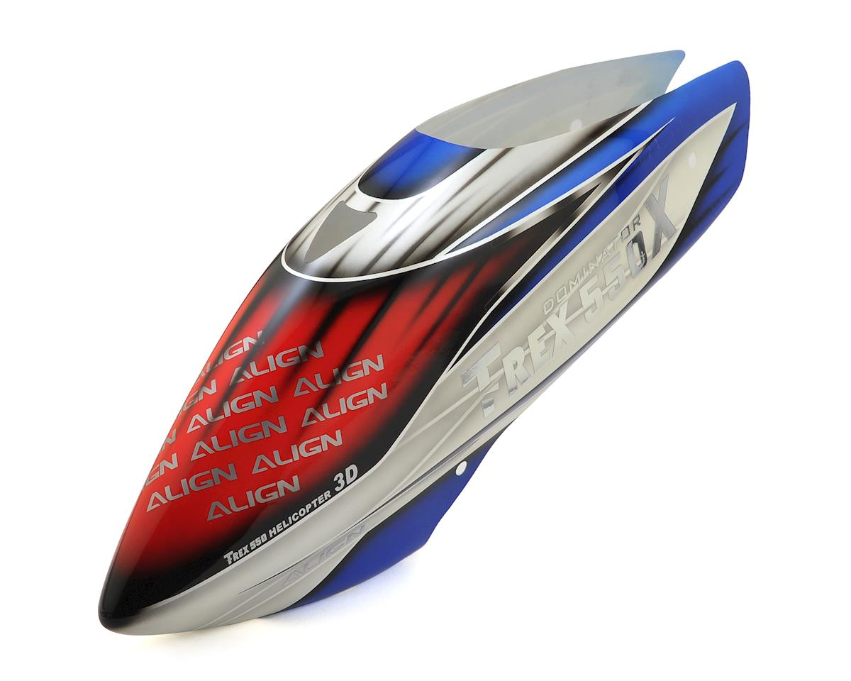 Align T-Rex 550X Painted Canopy (Red/White/Blue) (550X)