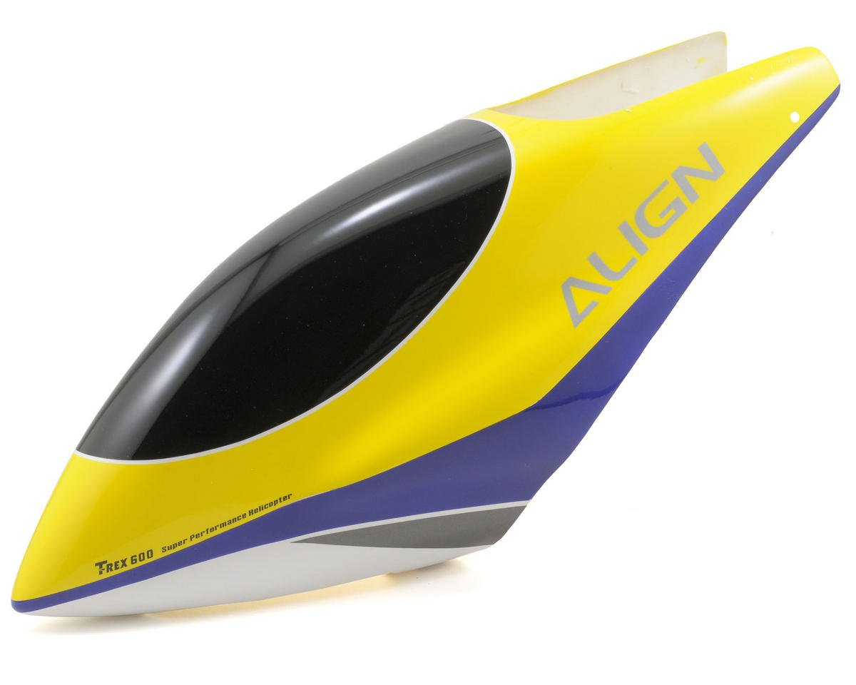 Align 600E Painted Canopy (Light Yellow)