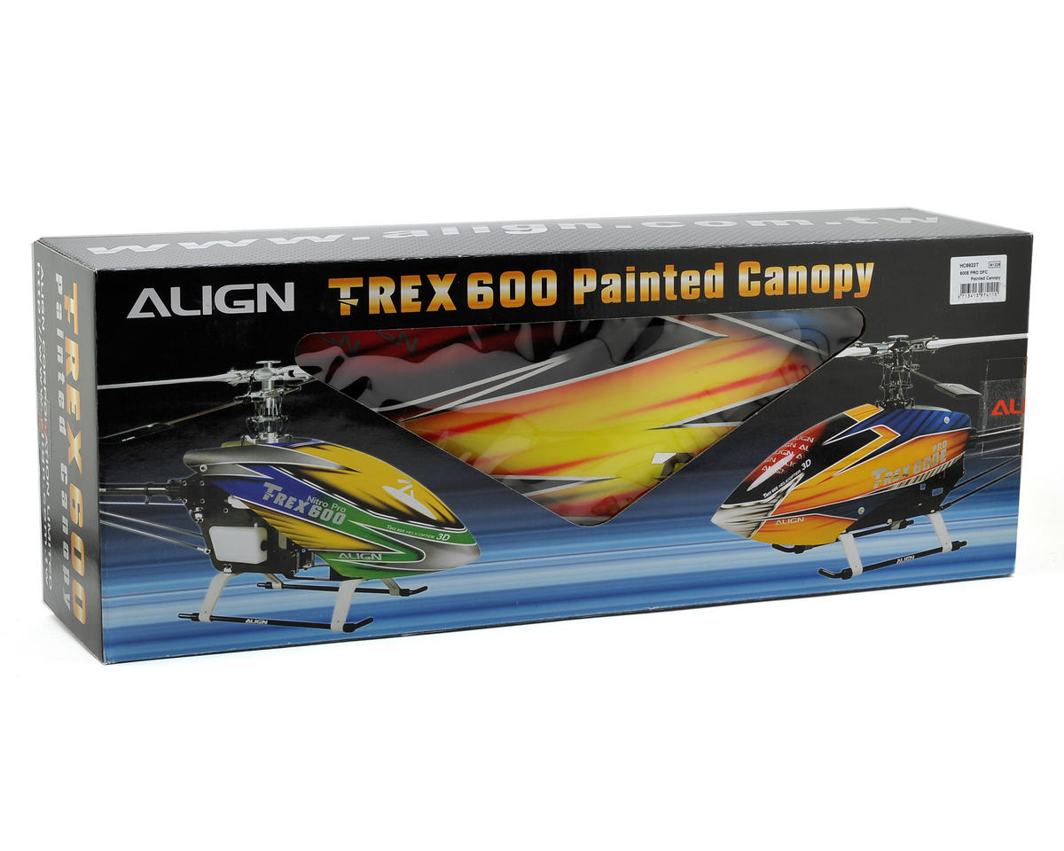 Align 600E PRO DFC Painted Canopy
