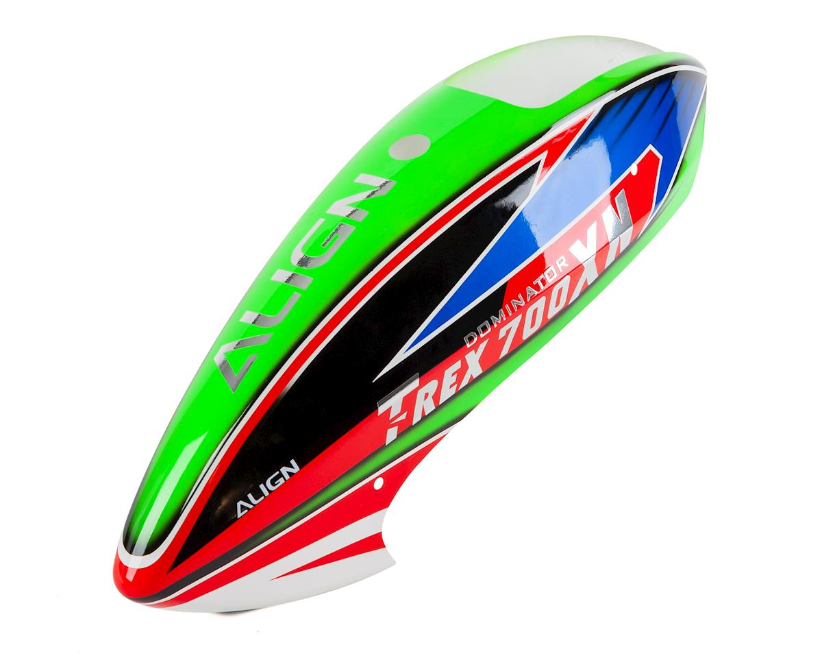 Align 700XN Painted Canopy (Green/Blue/Red)