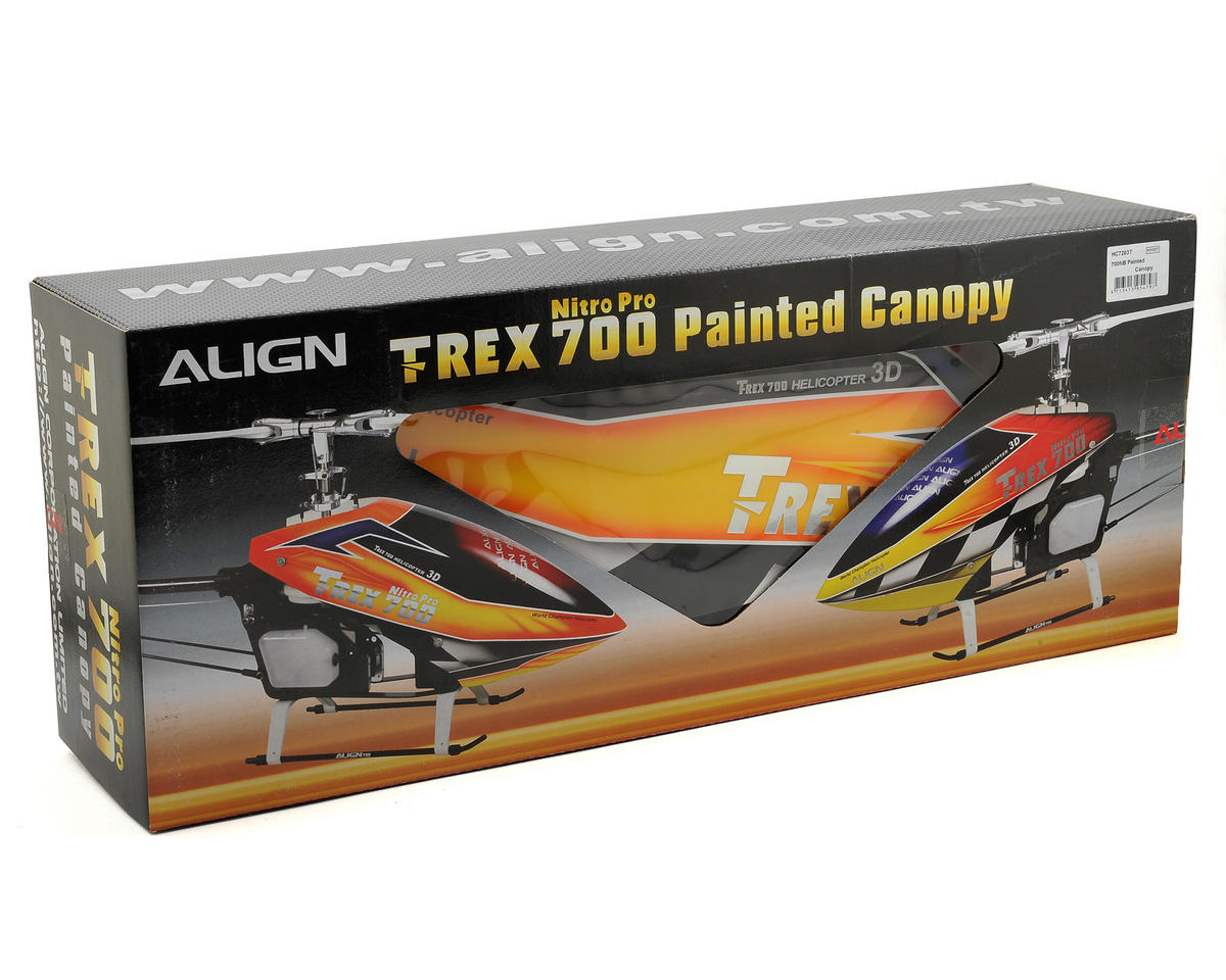 Align 700NB Painted Canopy