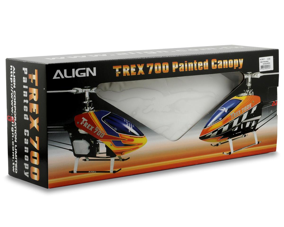 Align 700E Fiberglass Canopy (White)